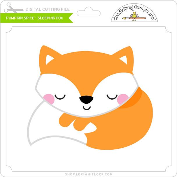 Pumpkin Spice - Sleeping Fox