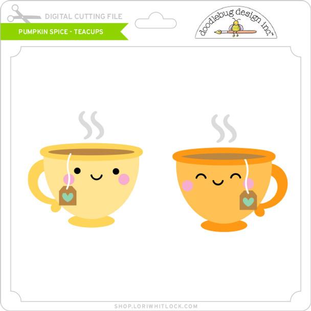Pumpkin Spice - Tea Cups