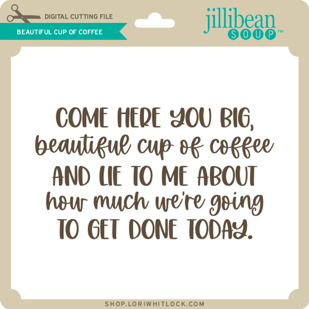 Beautiful Cup of Coffee