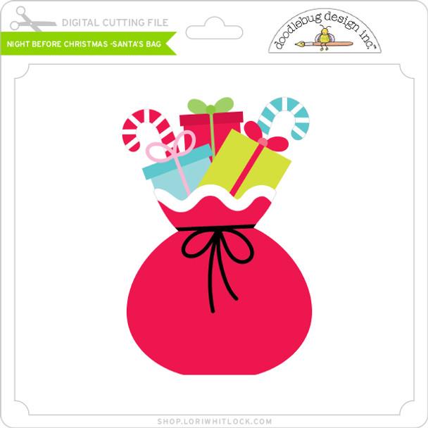 Night Before Christmas - Santa's Bag