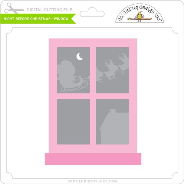 Night Before Christmas - Window