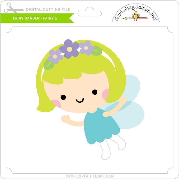Fairy Garden - Fairy 5