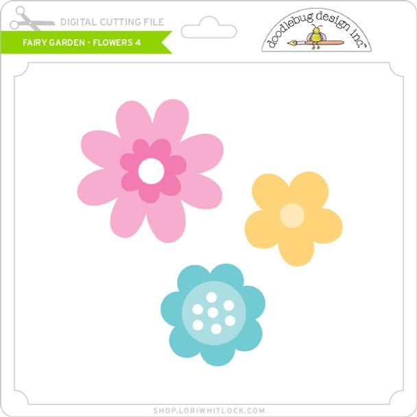 Fairy Garden - Flowers 4