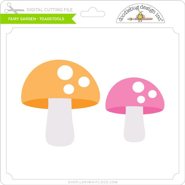 Fairy Garden - Toadstools