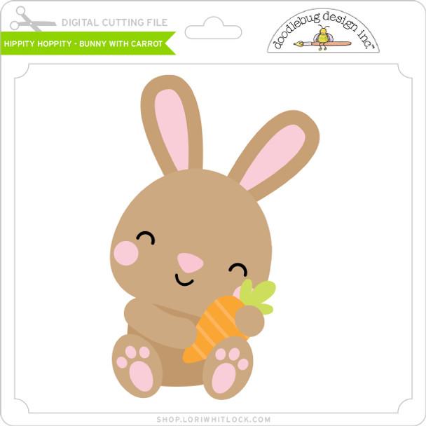 Hippity Hoppity - Bunny with Carrot