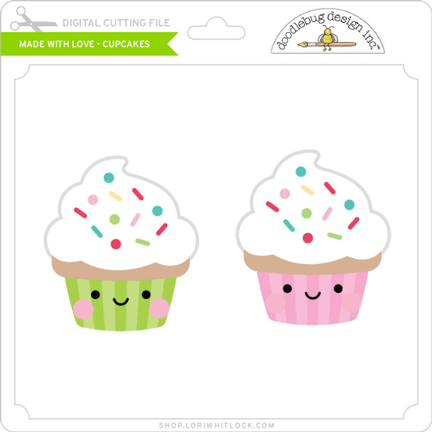 Made with Love - Cupcakes