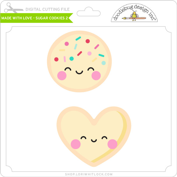 Made with Love - Sugar Cookies 2