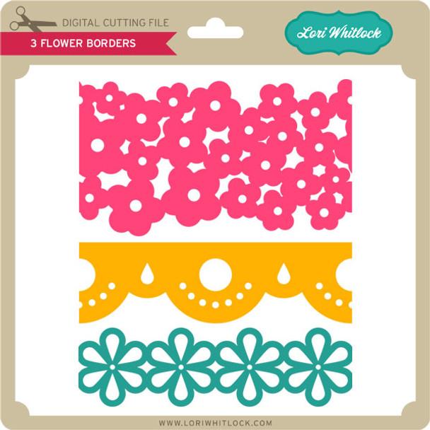 3 Flower Borders