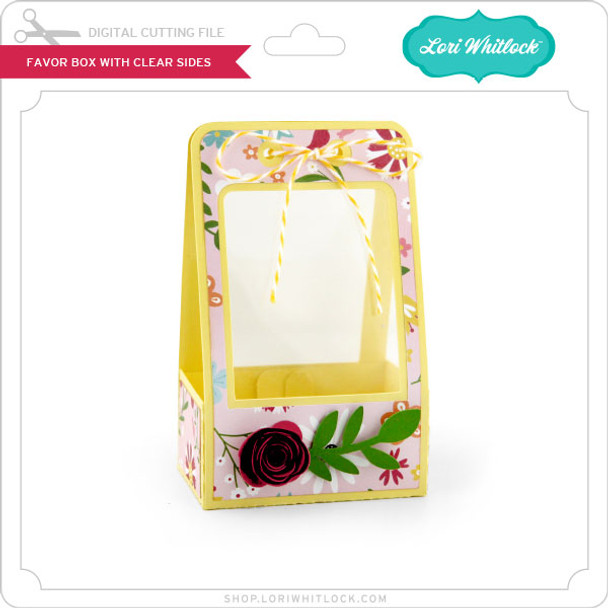 Favor Box with Clear Sides