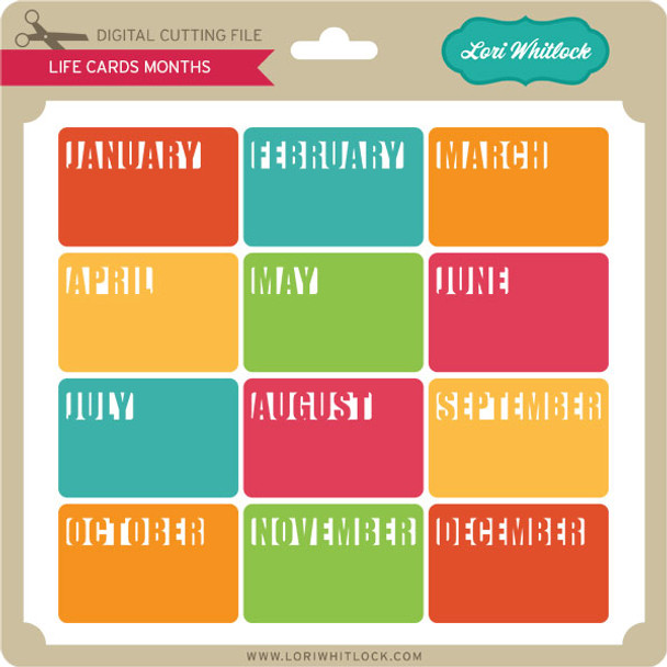 Life Cards Months 2