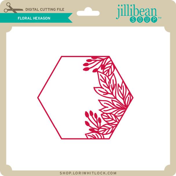 Floral Hexagon