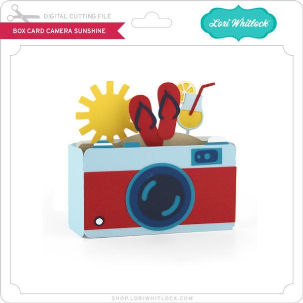 Box Card Camera Sunshine