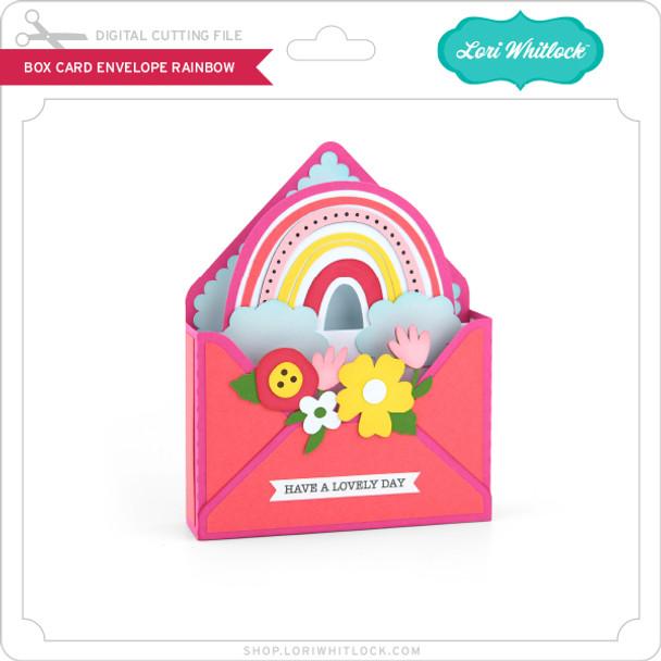 Box Card Envelope Rainbow