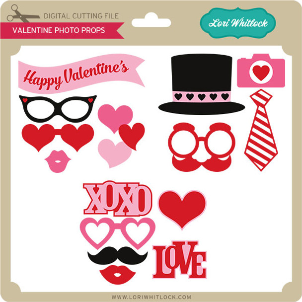 Valentine Photo Props