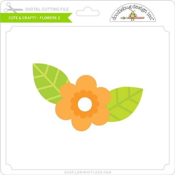 Cute & Crafty - Flowers 2