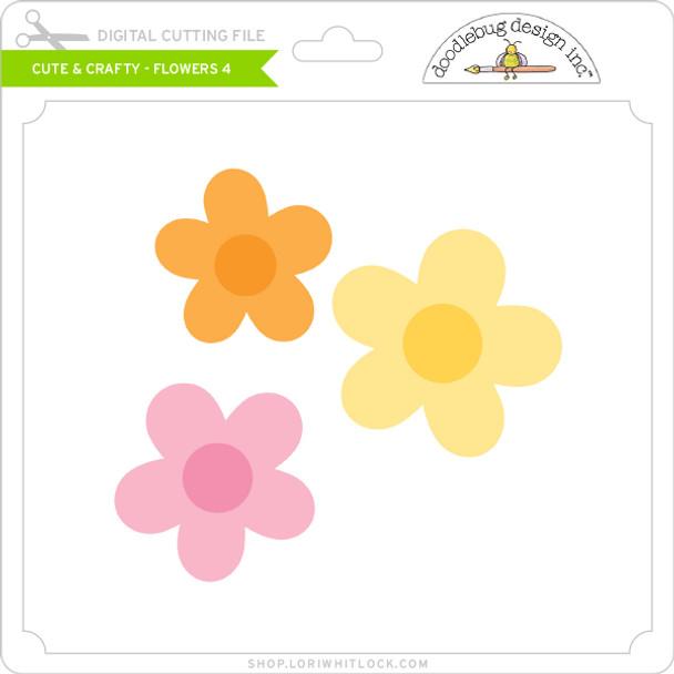 Cute & Crafty - Flowers 4