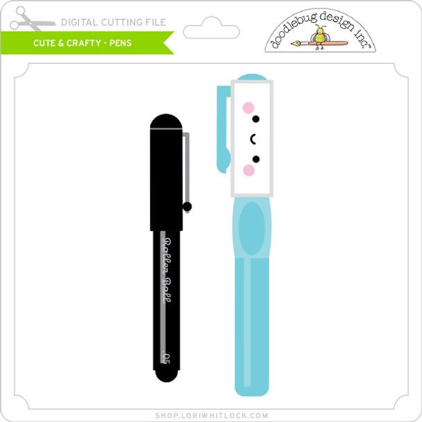 Cute & Crafty - Pens