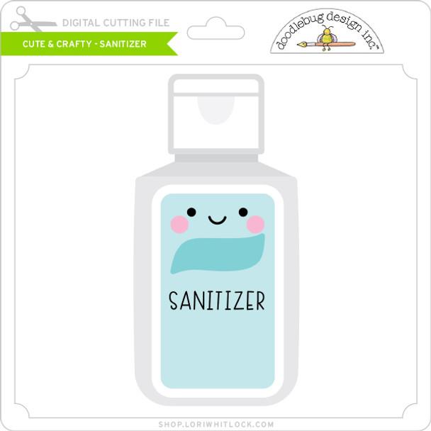 Cute & Crafty - Sanitizer