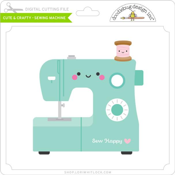 Cute & Crafty - Sewing Machine