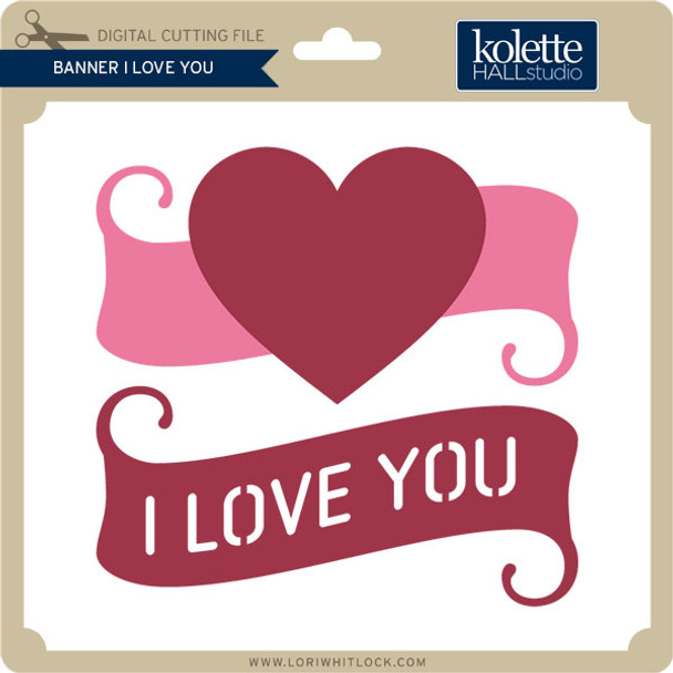 Banner I Love You