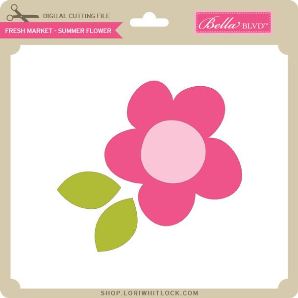 Fresh Market - Summer Flower