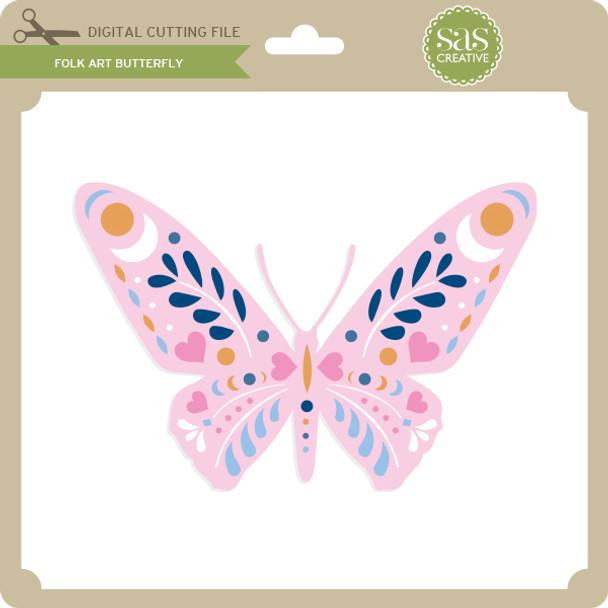 Folk Art Butterfly
