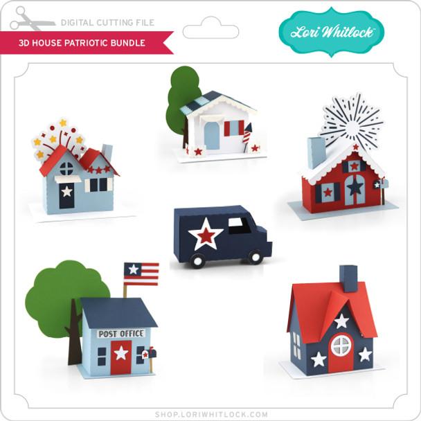 3D House Patriotic Bundle