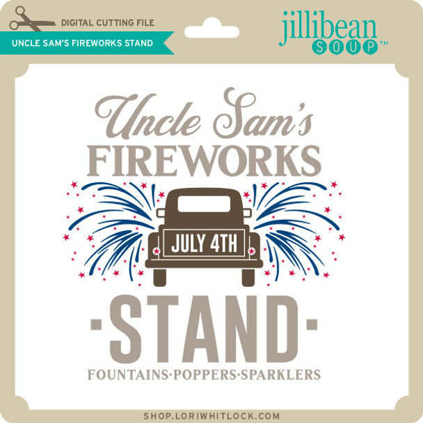 Uncle Sam's Fireworks Stand