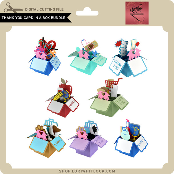 Thank You Card in a Box Bundle