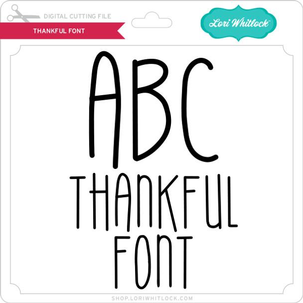 Thankful Font