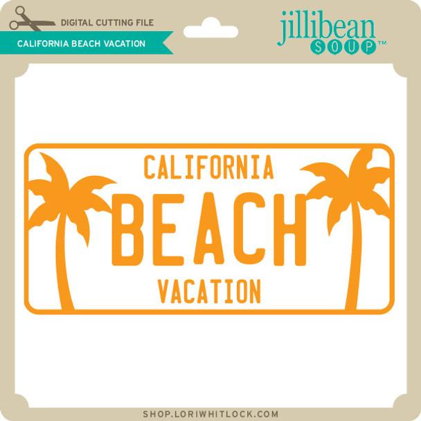 California Beach Vacation