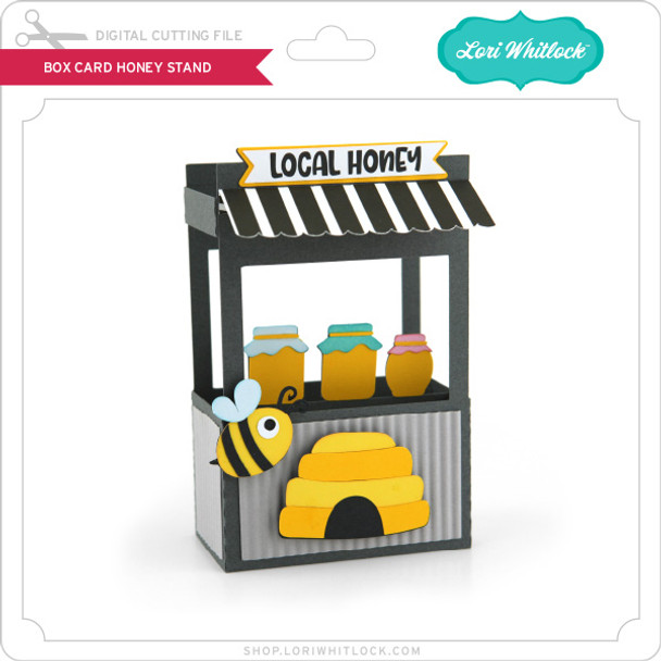 Box Card Honey Stand