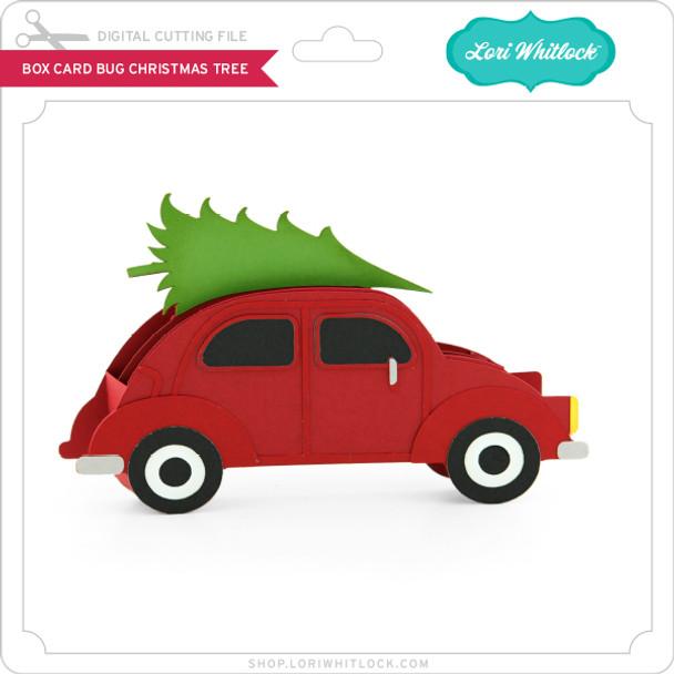 Box Card Bug Christmas Tree