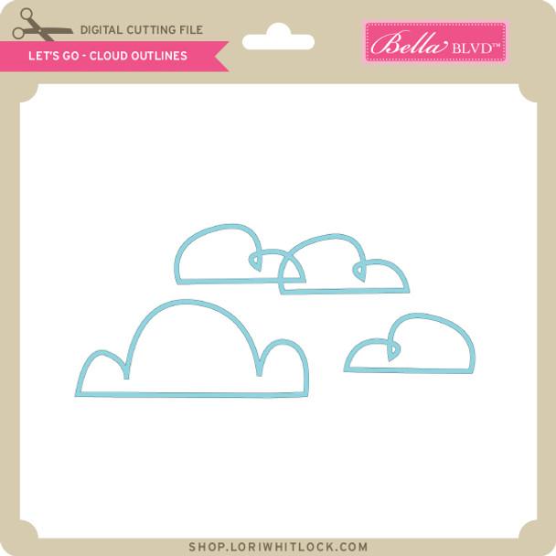 Let's Go - Cloud Outlines