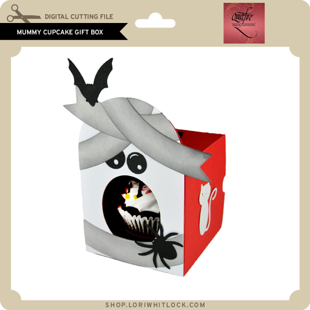 Mummy Cupcake Gift Box