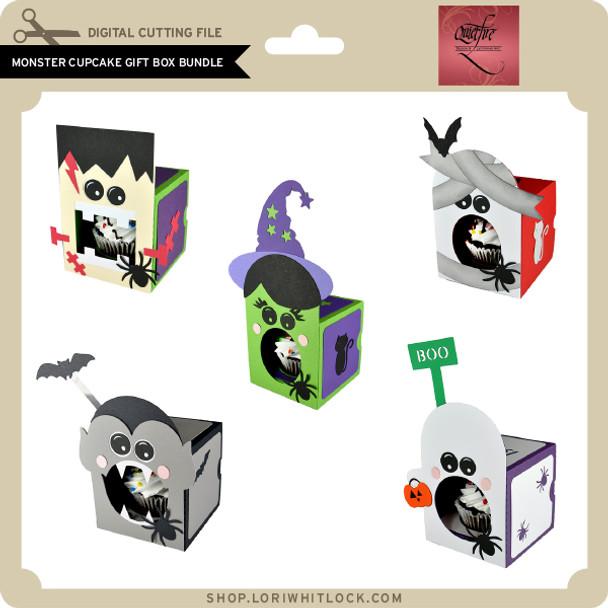 Monster Cupcake Gift Box Bundle