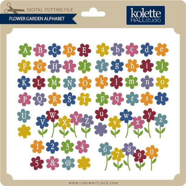 Flower Garden Alphabet