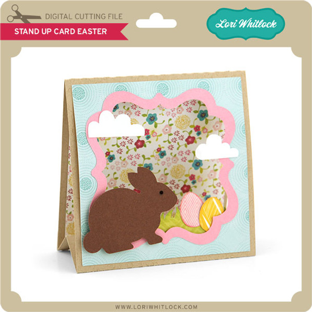 Stand Up Card Easter