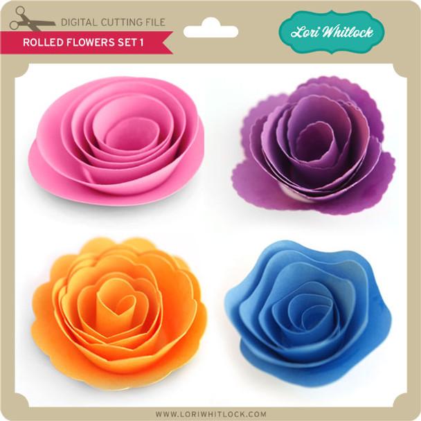 Rolled Flower Set 1