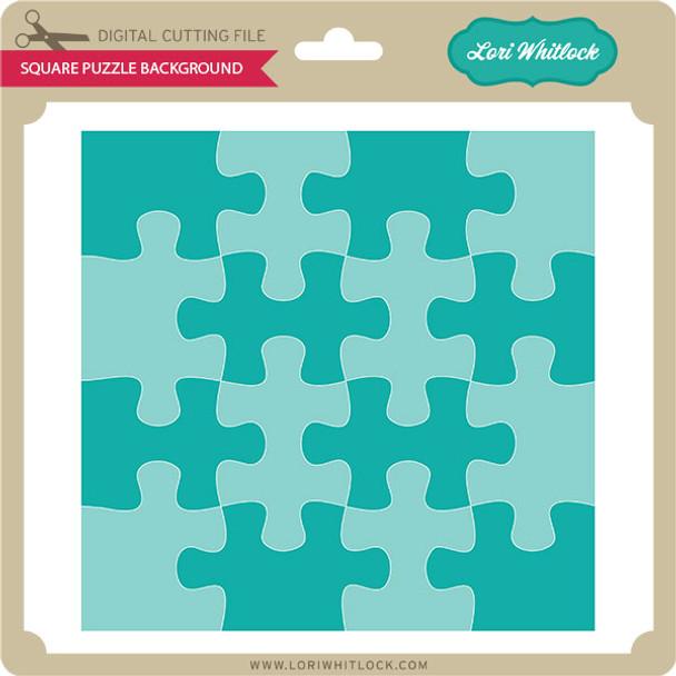 Square Puzzle Background