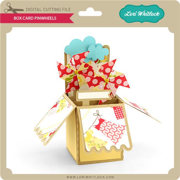 Box Card Pinwheels