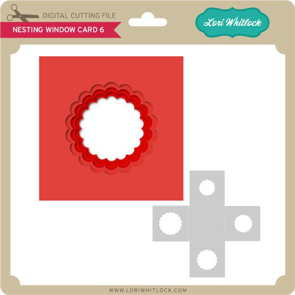 Nesting Window Card 6