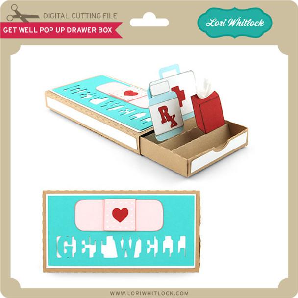 Get Well Pop Up Drawer Box