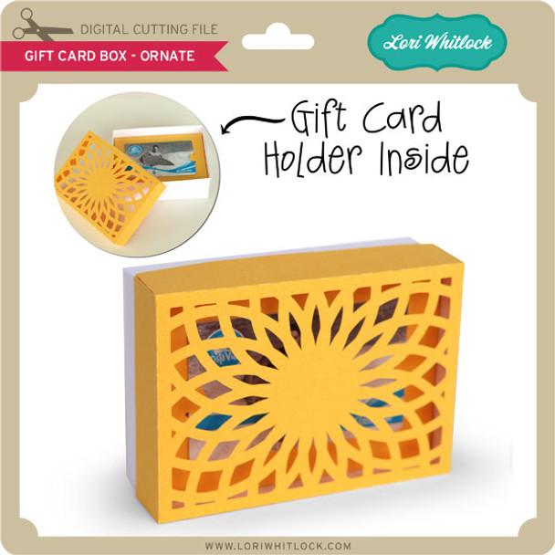 Gift Card Box - Ornate 1
