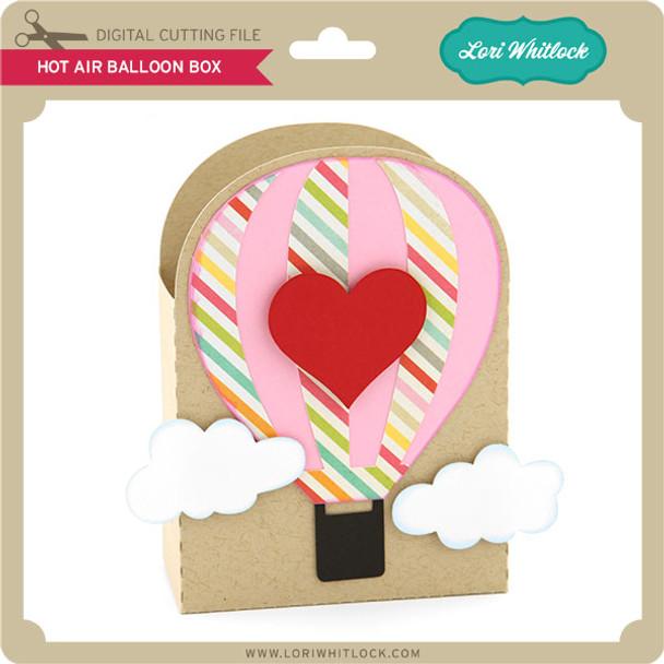 Hot Air Balloon Box