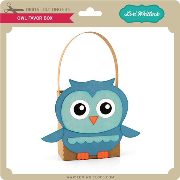 Owl Favor Box 2