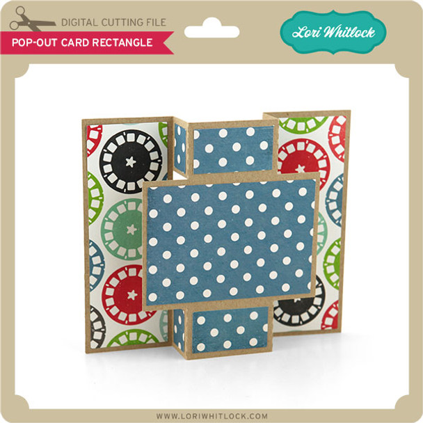 Pop Out Card Rectangle
