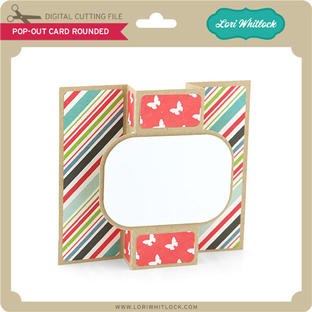Pop Out Card Rounded