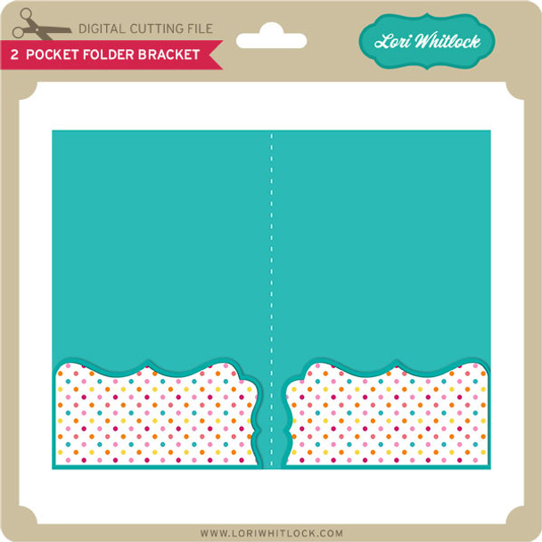 2 Pocket Folder Bracket