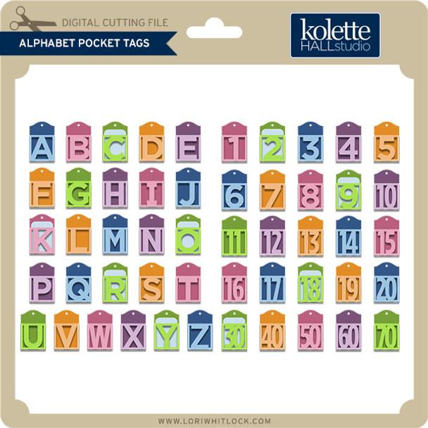 Alphabet Pocket Tags